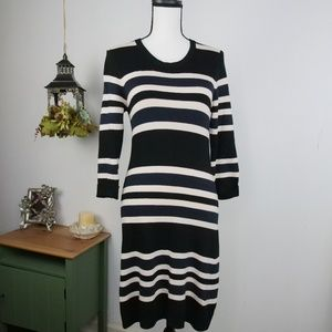 French Connection Sweater Dress Bodycon Sz 8